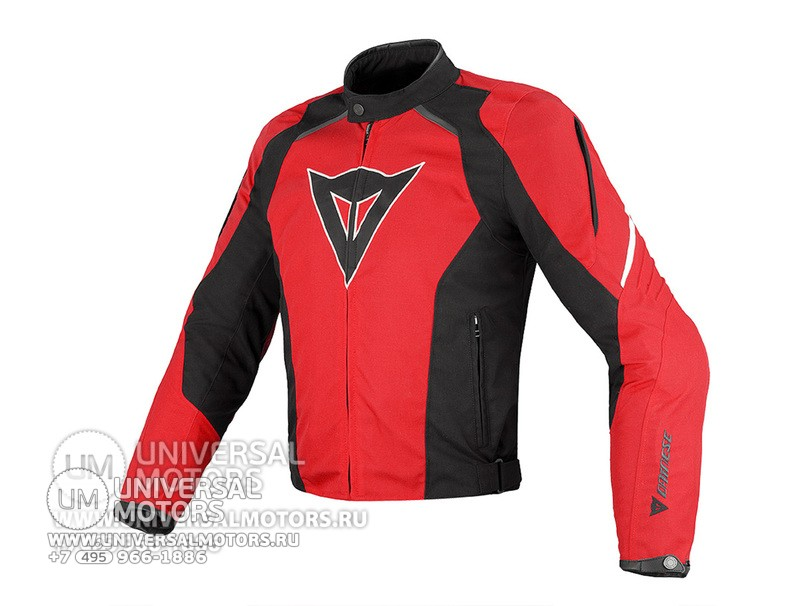 Куртка Dainese G. LAGUNA SECA TEX Black Red (14321316796792)