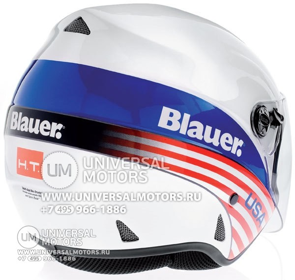 Шлем Blauer Boston White USA (14322206797715)