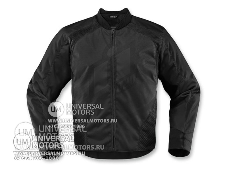 Куртка ICON OVERLORD  JACKET BLACK (14323791316883)