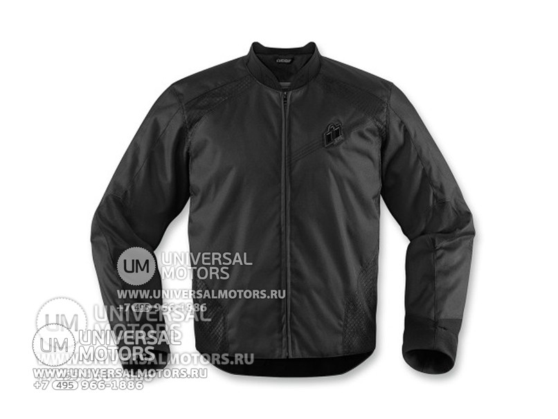 Куртка ICON OVERLORD STEALTH JACKET BLACK (14325390811763)