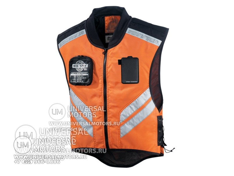 Жилет ICON MIL SPEC MESH VEST ORANGE (1432548005459)