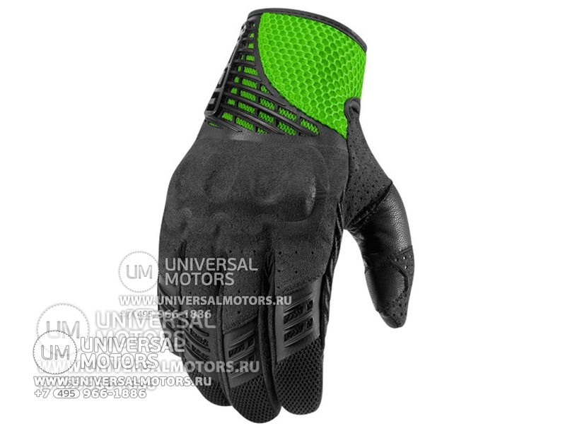 Перчатки ICON SANCTUARY GLOVE GREEN (14325549616513)