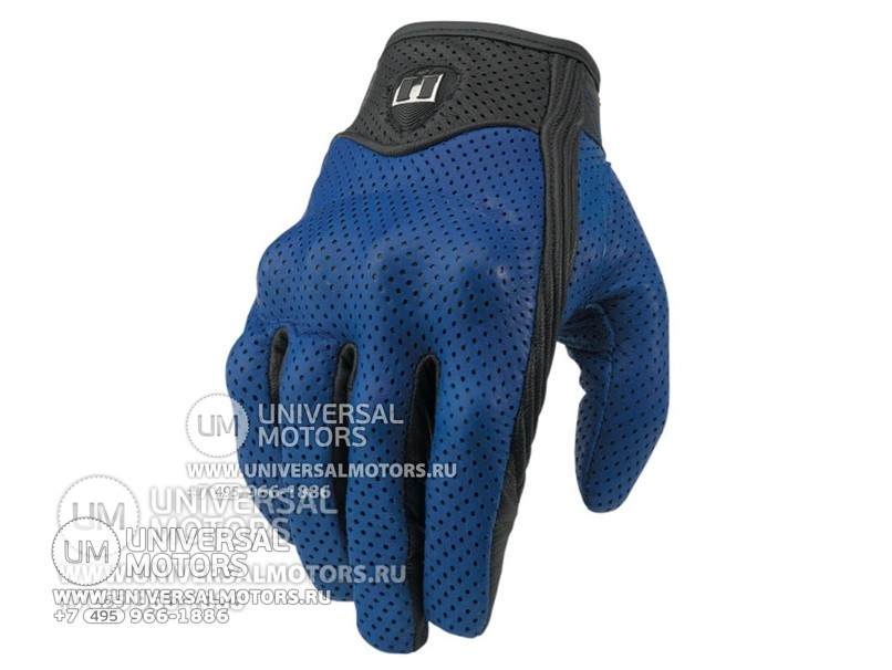 Перчатки ICON PURSUIT GLOVE BLUE (14325643179169)