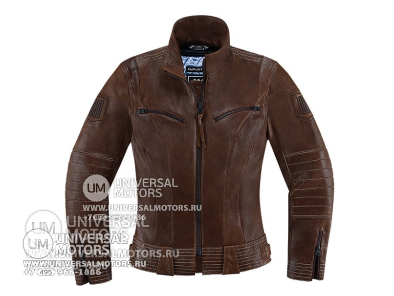 Куртка ICON 1000 FAIRLADY JACKET BROWN (14328151933361)