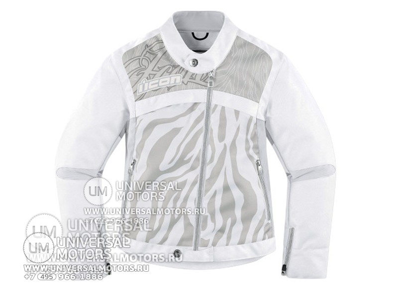 Куртка ICON HELLA 2 TEXTILE JACKET WHITE (14328180522493)