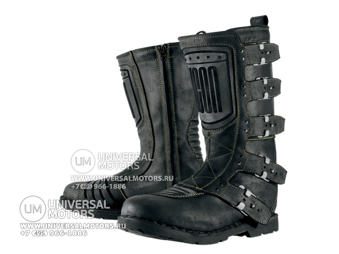 Сапоги ICON 1000 ELSINORE BOOTS BLACK (14334143525022)