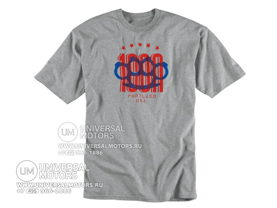 Футболка ICON 1000 KNUCKLES TEE  (14335098223459)