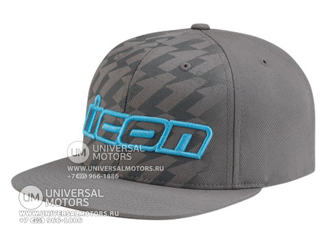 Кепка ICON STACK HAT GREY (14335180863456)