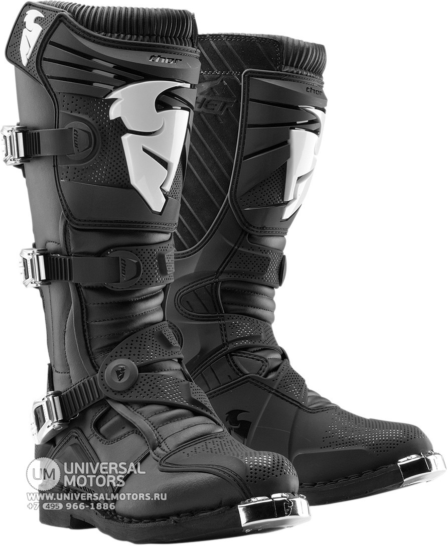 Ботинки Thor RATCHET BLACK BOOT (14380888523816)