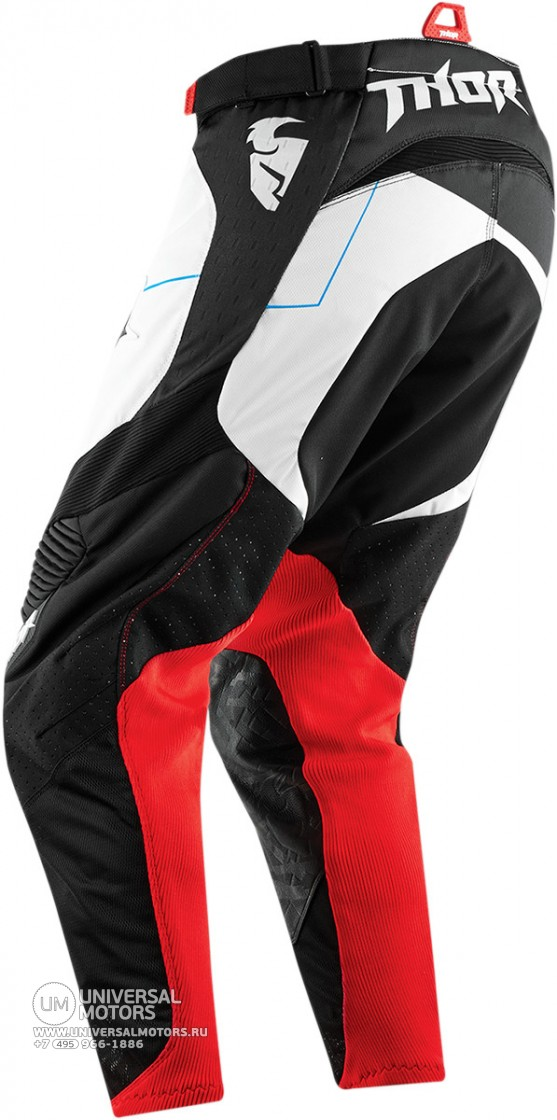 Брюки THOR CORE SPLINTER WHITE/RED PANT (14380105934618)