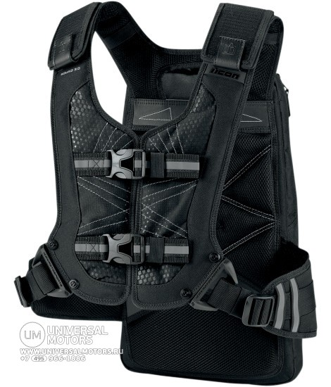 Рюкзак ICON SQUAD 3 BACKPACK BLACK (14375523478094)