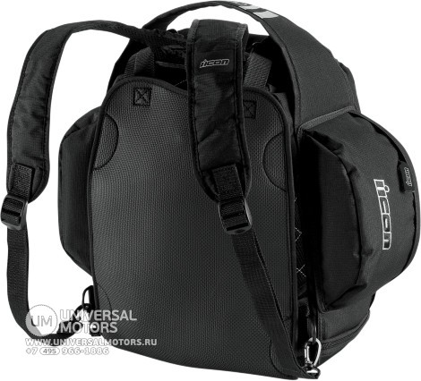 Рюкзак ICON URBAN TANK BAG BLACK (14375532599419)