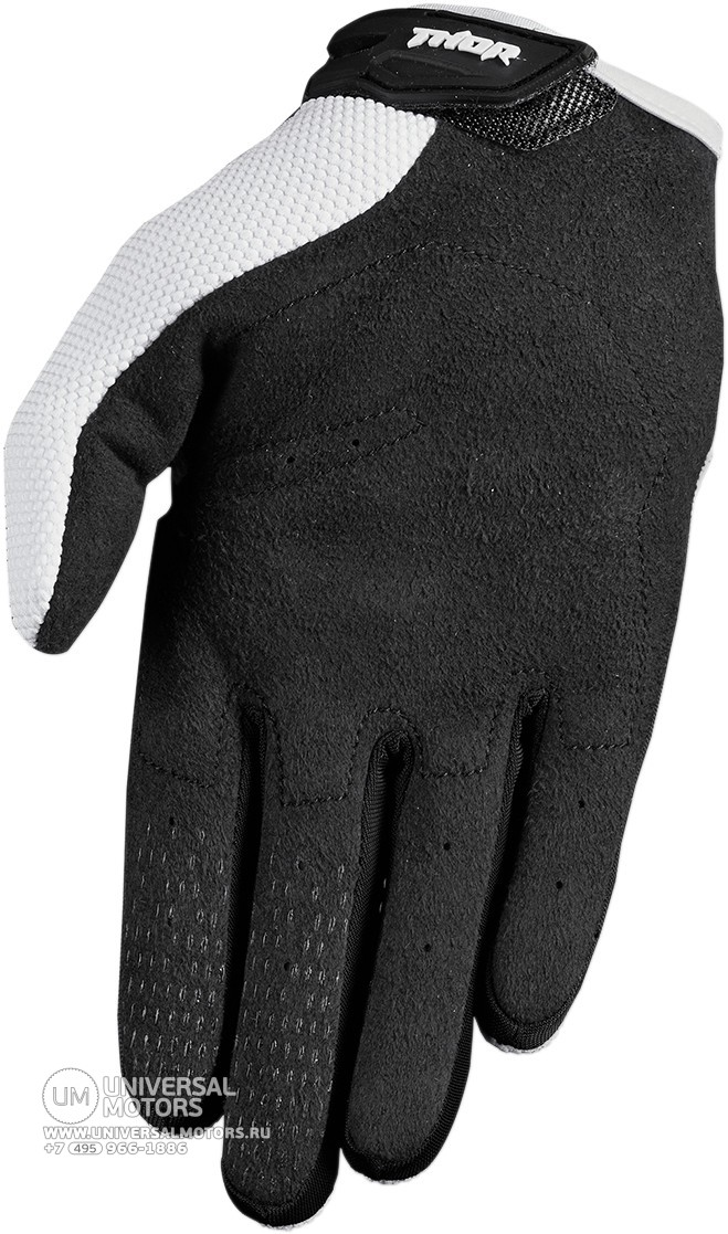 Перчатки THOR SPECTRUM WHITE YOUTH GLOVE (14381707931851)