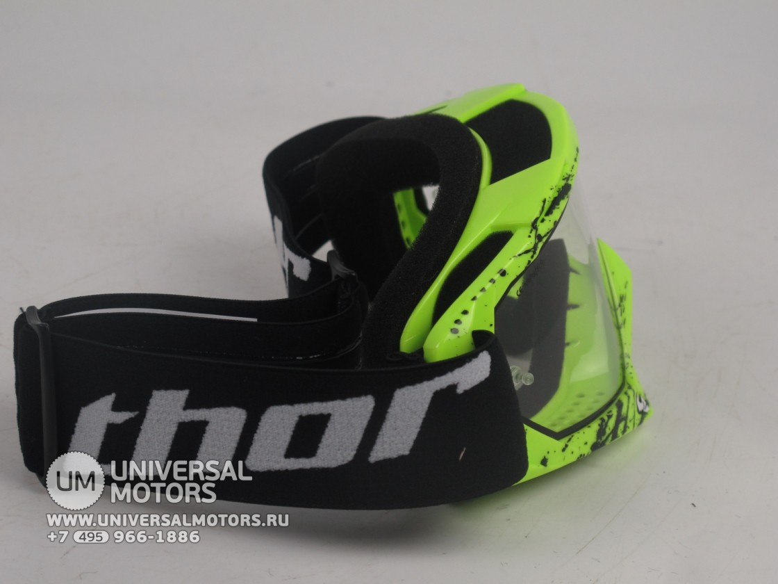 Очки Thor ENEMY SPLATTER GREEN YOUTH GOGGLE (15065051574455)