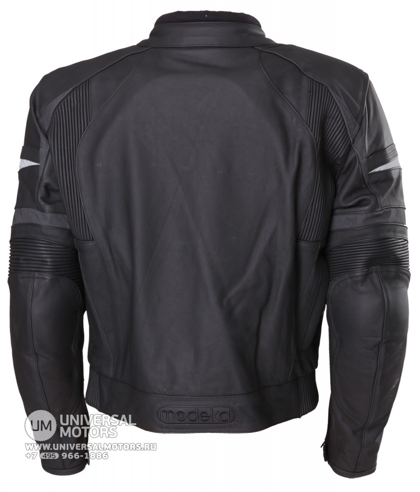 Куртка MODEKA LEATHER JACKET TOURRIDER black (14404079852586)