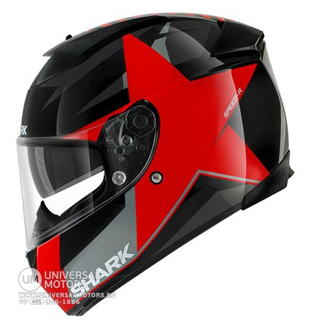 Шлем SHARK Speed-R MXV Texas RED  (14442094022811)