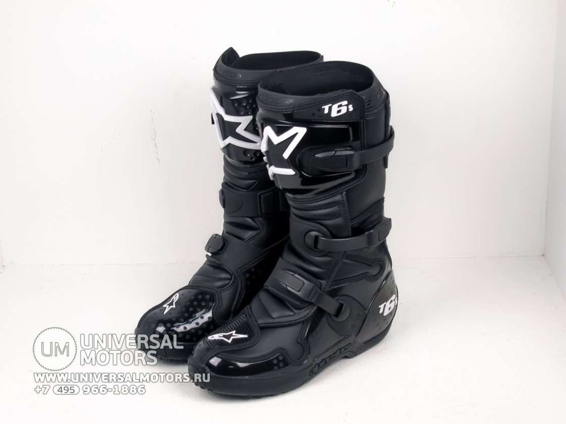 Мотоботы Alpinestars TECH 6 S Black (14679163346043)
