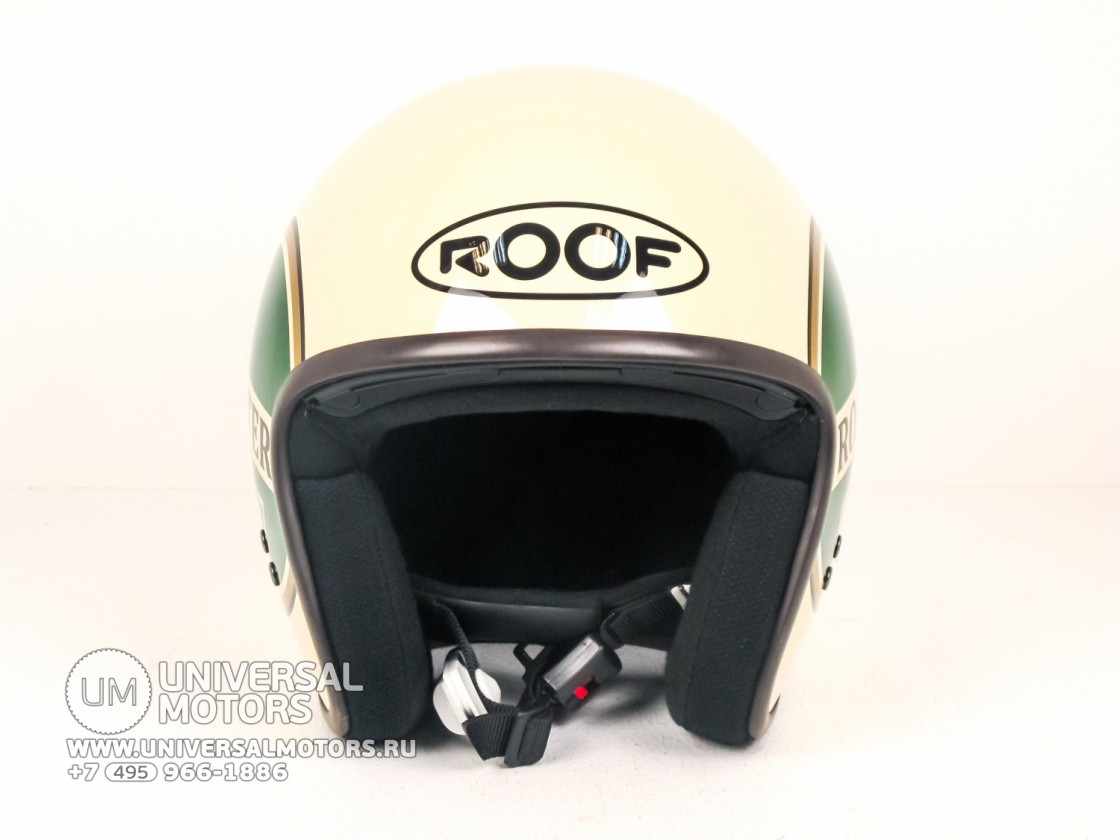 Шлем ROOF ROADSTER LIBERTY Creme-Green (14660092626677)