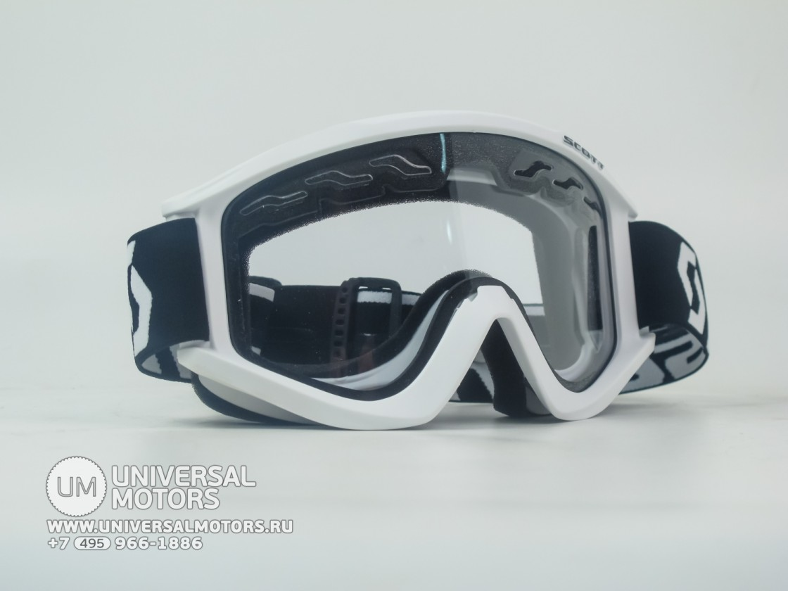 Очки Scott recoil XI enduro white clear (14908868800387)