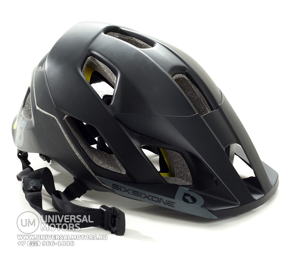 Шлем SIXSIXONE EVO AM HELMET - BLACK/GRAY (14720469062466)