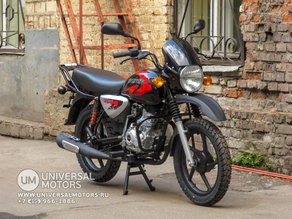 Мотоцикл Bajaj Boxer BM 150 X (14643414229883) 042be1fed7116