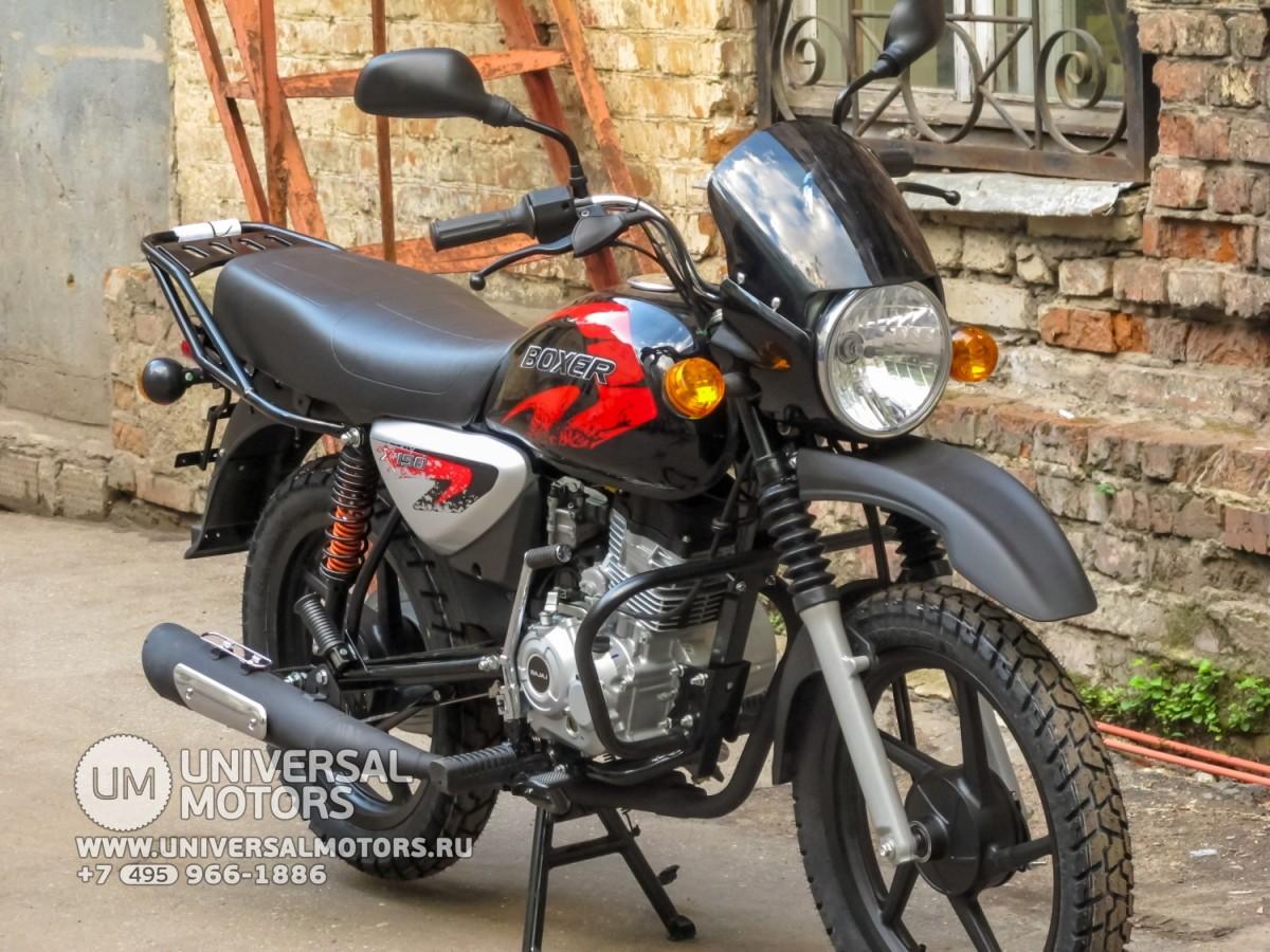 Мотоцикл Bajaj Boxer BM 150 X (14643414235153) ffabd4a1f5601