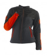 Куртка Dainese G. AIR-FRAME TEX LADY 606 NERO/ROSSO