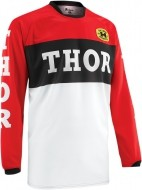 Джерси THOR PHASE PRO-GP RED/BLACK JERSEY