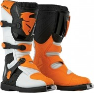 Ботинки Thor BOOT S5 BLITZ CE WHITE/ORANGE