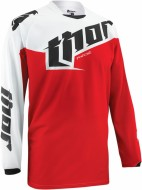 Джерси THOR PHASE TILT RED YOUTH JERSEY