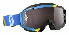 Очки Scott Hustle MX Asymmetric Chrome Works - Blue/Black