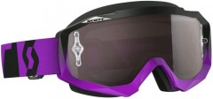 Очки Scott Hustle MX oxide purple / black silver chrome works