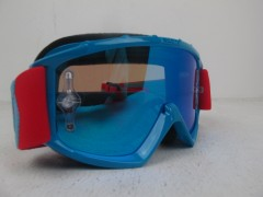 Очки Scott MX 89 Si Pro oxide red / blue / electric blue chrome works