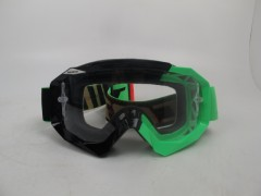 Очки Scott Hustle MX , black/fluo green clear works