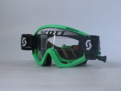 Очки Scott Recoil Xi WFS , black/fluo green clear works