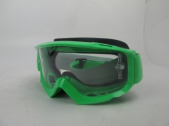 Очки Scott SPLIT OTG , fluo green clear works