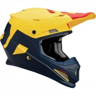 Шлем THOR SECTOR LEVEL S8 OFFROAD MATTE NAVY/YELLOW