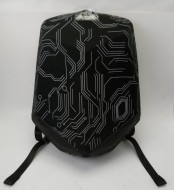 Рюкзак Diamond Backpack-Black Nylon with white lines