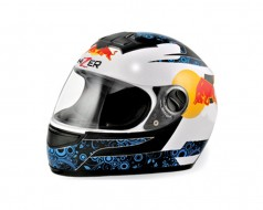 Шлем Red Bull HIZER 523 #2 white/moon