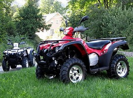 Квадроцикл POLAR FOX ATV600 EFI