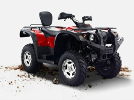 Квадроцикл HISUN ATV 500i RED