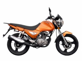 Мотоцикл Zontes Monster ZT125-5A оранжевый