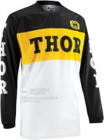 Джерси THOR PHASE PRO-GP BLACK/YELLOW JERSEY