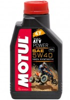 Мотор/масло MOTUL ATV POWER 4T SAE 5w-40 (1л)