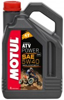 Мотор/масло MOTUL ATV POWER 4T SAE 5w-40 (4л)