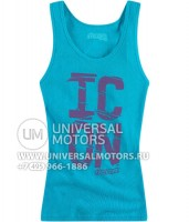 Майка ICON HOT CORNER TANK TURQUOISE