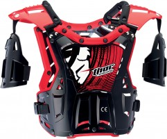 Защита тела THOR YOUTH QUADRANT BLACK/RED