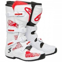 Мотоботы AlpineStars TECH 3 WHITE/RED
