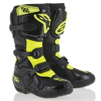 Мотоботы Alpinestars TECH 6 S Black Yellow