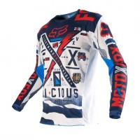 Джерси Fox 180 Vicious Jersey Blue/White